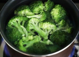 broccoli  food keratin