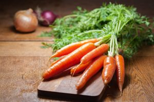 Carrots food keratin