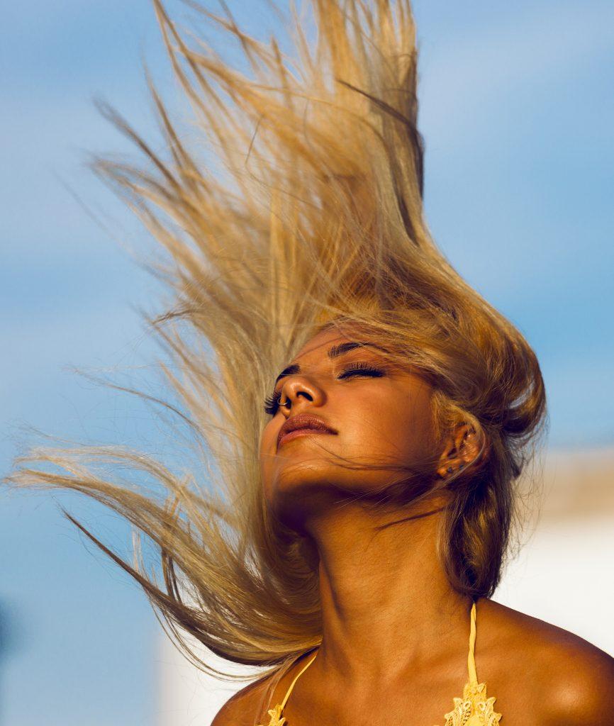 Sunscreens for hair