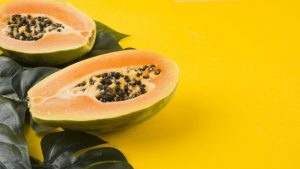 Papaya food keratin